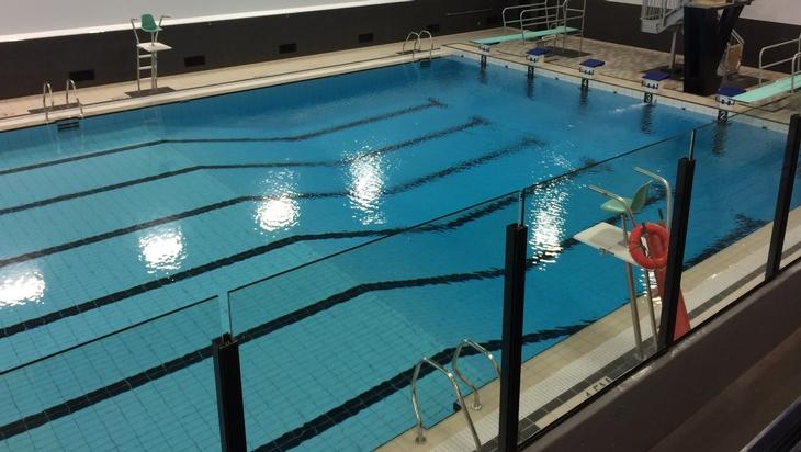 Nouvelle palestre de gymnastique arpidrome de for Arpidrome piscine